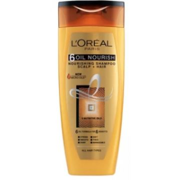 L'Oreal 6 Oil Nourish Shampoo 75ml - 599.101387.00.000