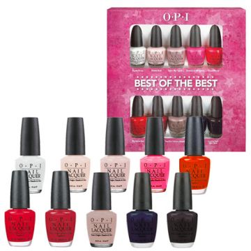 OPI Nail Lacquer Best Of The Best Minis Sets - 10 Minis - HLC19