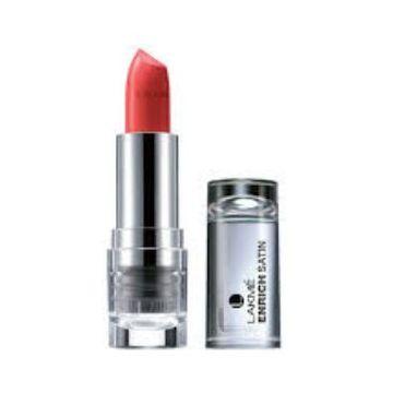 Lakme Enrich Satins Lip Color - P147 - 4.3g