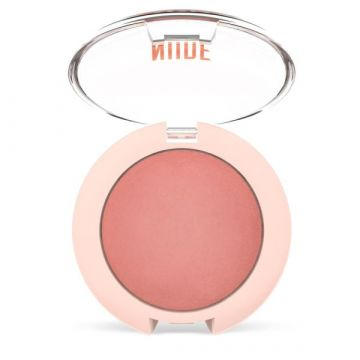 Golden Rose Nude Look Face Baked Blusher - Peachy Nude