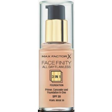 Max Factor Facefinity 3-IN-1 Foundation - Pearl Beige - 35 - 5410076971312