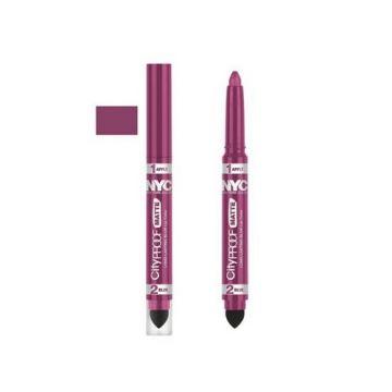 NYC City Proof Matte Blur Lip Color - Pink City - BB