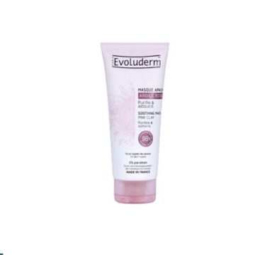 Evoluderm Soothing Mask Pink Clay - 100ml - 3760100183306