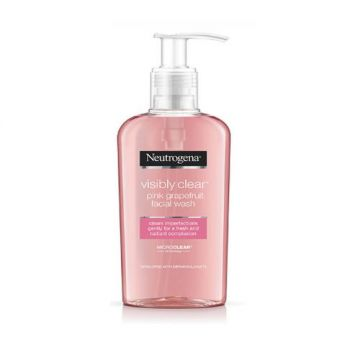 Neutrogena Facial Wash, Visibly Clear, Pink Grapefruit - 200ml - 3574661186009