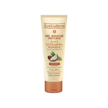 Evoluderm Sweet Almond Milk Shower Gel - 200ml