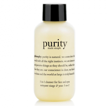 Purity Made Simple 3 in 1 Cleanser For Face And Eyes - 30ml - MB