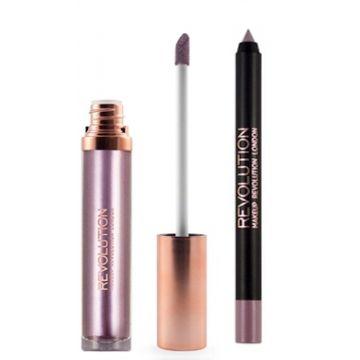Makeup Revolution Retro Luxe Kits Metallic - The Rebellion