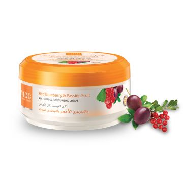 VLCC Red Bearberry & Passion Fruit Moisturizing Cream - 75ml