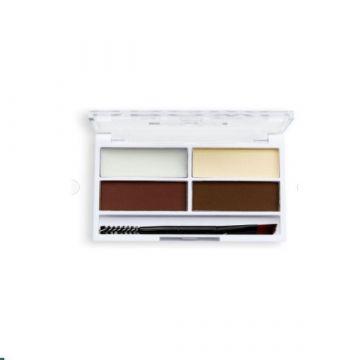 Makeup Revolution Relove Colour Cult Brow Palette - Dark