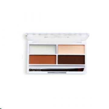Makeup Revolution Relove Colour Cult Brow Palette - Medium