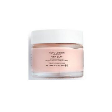 Makeup Revolution Skincare Pink Clay Detoxifying Face Mask