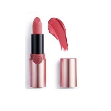 Makeup Revolution Powder Matte Lipstick - Rosy