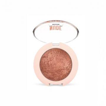 Golden Rose Nude Look Pearl Baked Eyeshadow - 02 Rose Bronze