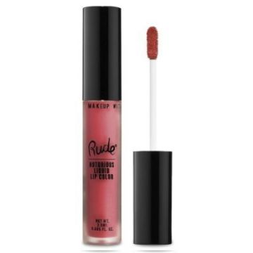 Rude Notorious Liquid Lip Color - 65518 Wicked Thoughts - j4g