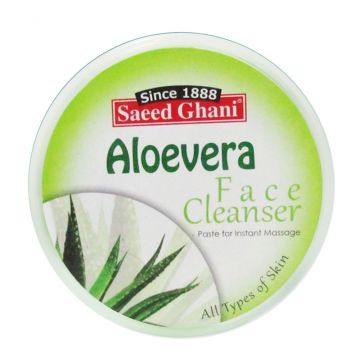 Saeed Ghani Aloe Vera All Types Face Cleanser - 150ml - J4g
