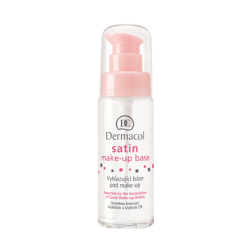 The smoothing Satin Make-up Base fills and erases wrinkles, fine lines and pores and prevents make-up from accumulating in the wrinkles