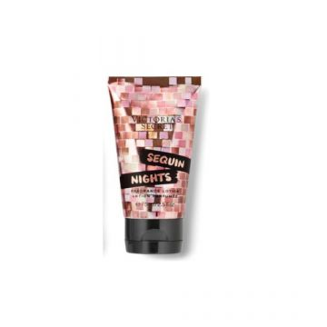 Victoria's Secret Sequin Nights Fragrance Lotion (Sparkling Pomegranate, Sultry Woods, Party Queen) (75ml/2.5oz) - US