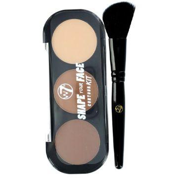 W7 Cosmetics Shape Your Face Contour Kit - J4g