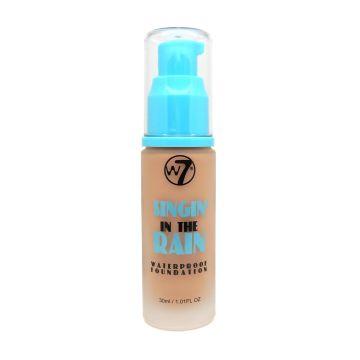 W7 Cosmetics Singin' In The Rain Waterproof Foundation 30ml - Natural Tan
