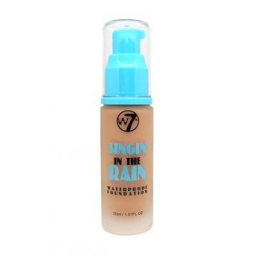 W7 Cosmetics Singin' In The Rain Waterproof Foundation 30ml - True Beige