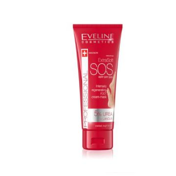 Eveline Extra Soft SOS Very Dry Skin 5% Urea Foot Cream - 100ml - J4g