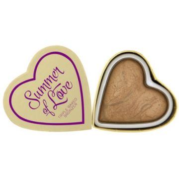 I Heart Makeup Hearts Bronzer - Summer Of Love - j4g
