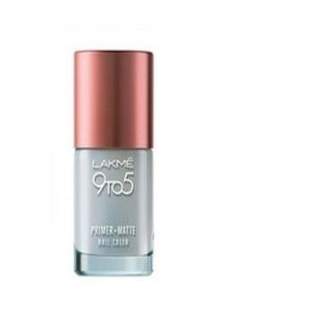 Lakm 9 To 5 Primer And Matte Nail Color - Top Coat  - 9ml