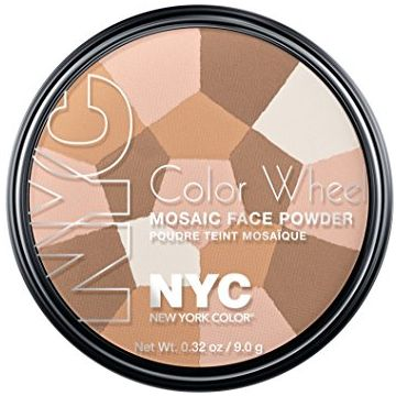 NYC Color Wheel Mosaic Face Powder - Translucent Highlighter Glow - BB