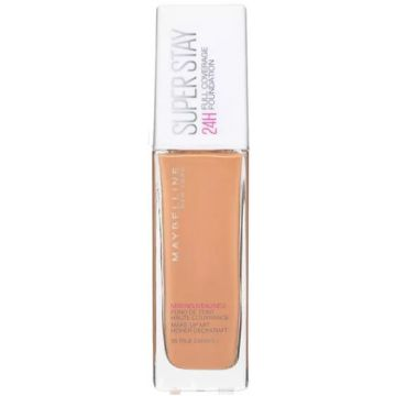 Maybelline Superstay 24H Full Coverage Liquid Foundation - 58 True Caramel - 1611