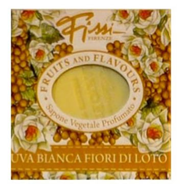 Fissi Firenze Fruits And Flavours Soap - White Grapes Lotus Flower