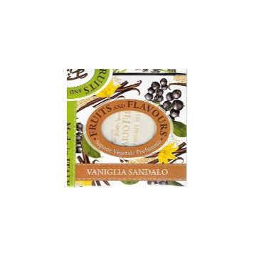 Fissi Firenze Fruits And Flavours Soap - Vanilla Sandalwood