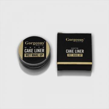 Gorgeous Met Cake Liner Wet Makeup - Black