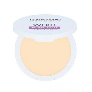 Color Studio Whitening Base Makeup Mattifying Cake - Light